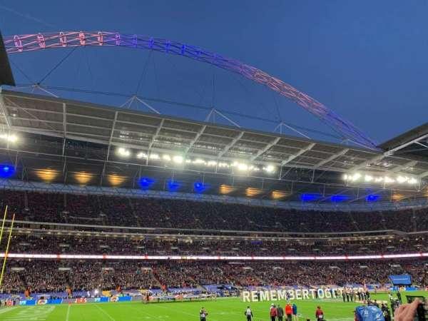 Wembley Stadium, secção: 126, fila: 11, lugar: 96
