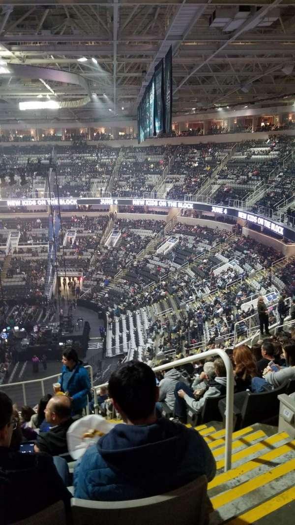 SAP Center, secção: 213, fila: 15, lugar: 2