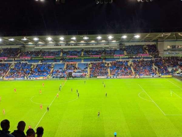 Cardiff City Stadium, secção: 513, fila: N, lugar: 72