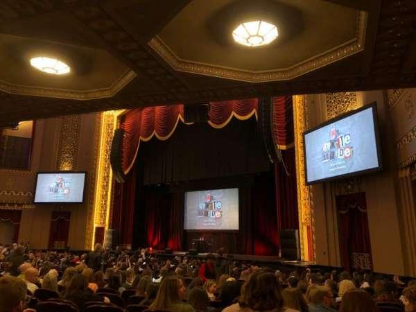 Stifel Theatre, secção: Orchestra Right, fila: Y, lugar: 14