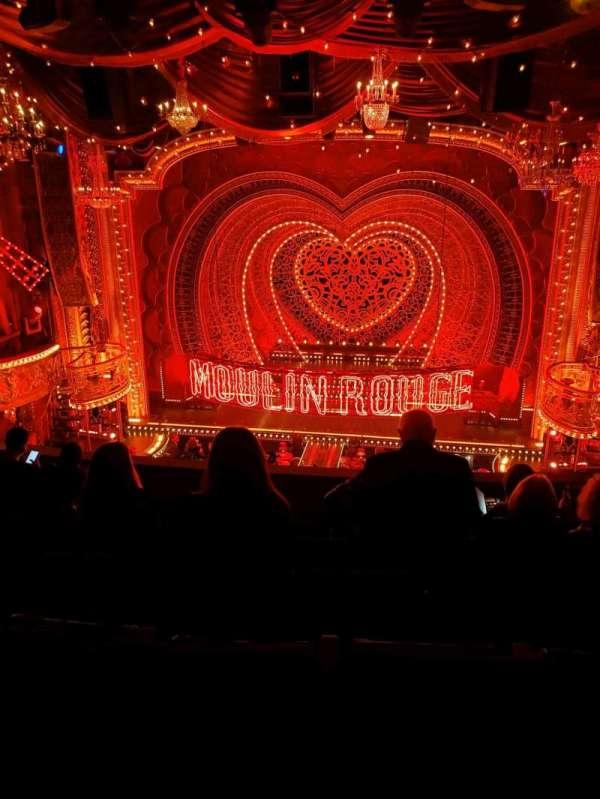 Al Hirschfeld Theatre, secção: Mezzanine C, fila: G, lugar: 103