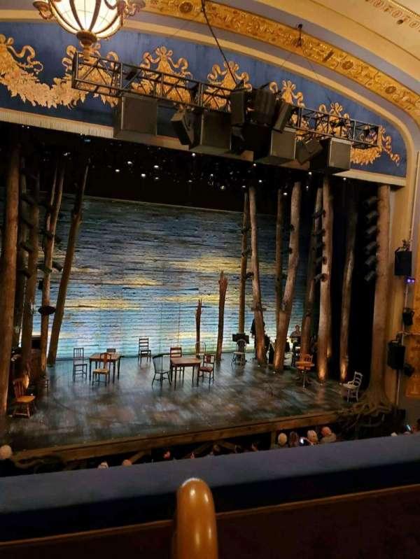 Gerald Schoenfeld Theatre, secção: Mezzanine L, fila: B, lugar: 1