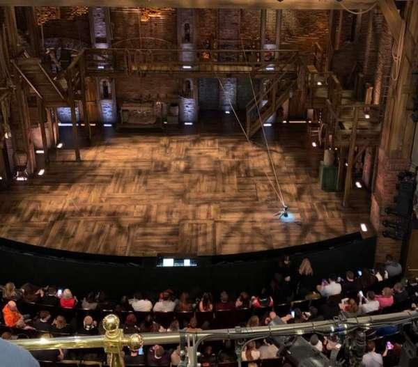 Victoria Palace Theatre, secção: Grand Circle, fila: C, lugar: 19