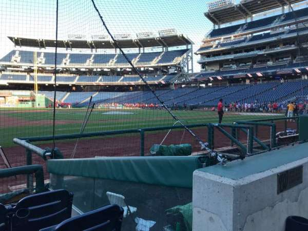 Nationals Park, secção: 100, fila: G, lugar: 26
