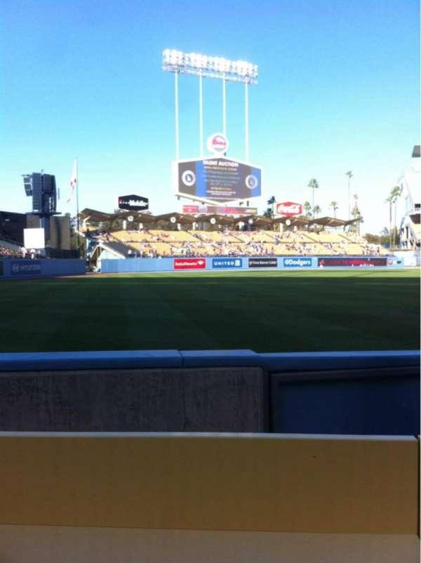 Dodger Stadium, secção: 45BL, fila: BB, lugar: 10