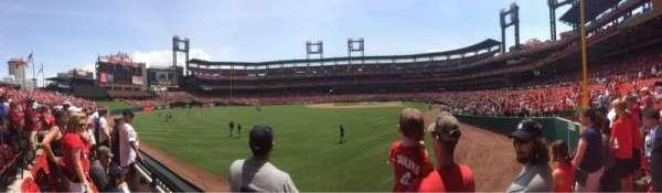 Busch Stadium, secção: 171, fila: 1, lugar: 7