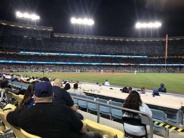 Dodger Stadium, secção: 44FD, fila: C, lugar: 1