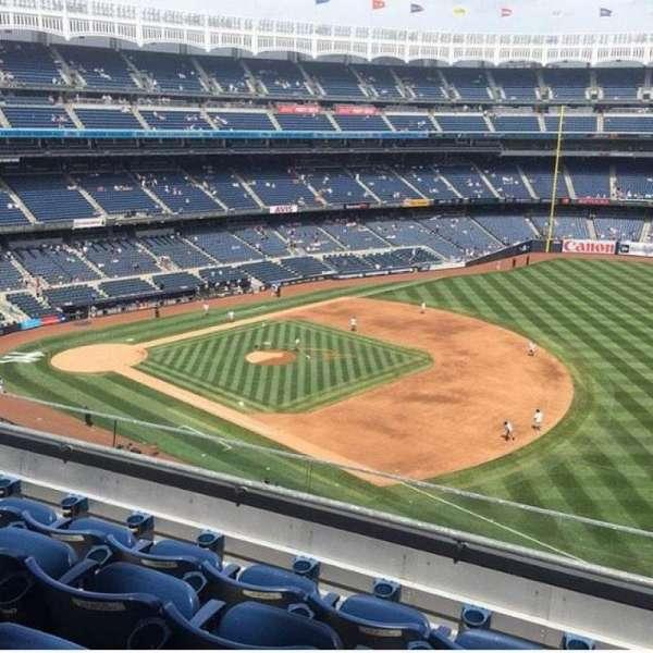 Yankee Stadium, secção: 312, fila: 4