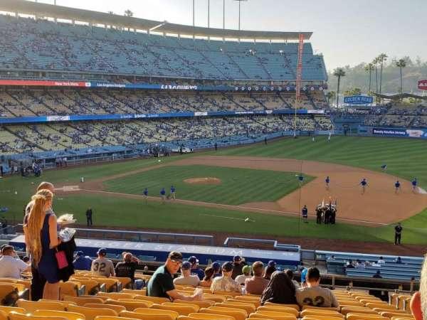 Dodger Stadium, secção: 138LG, fila: R, lugar: 5