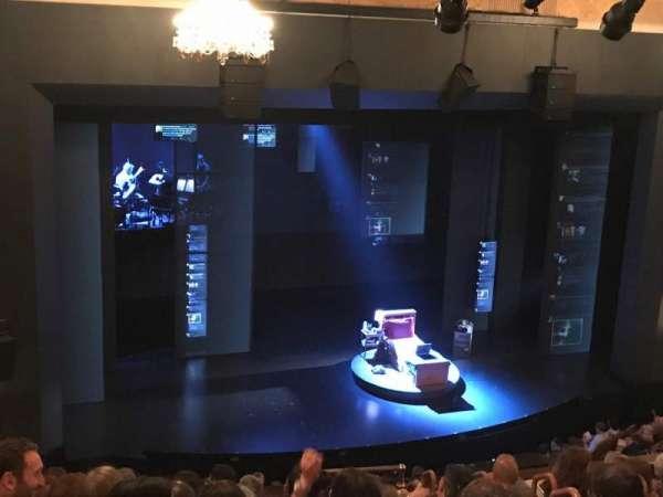 Music Box Theatre, secção: Mezzanine C, fila: K, lugar: 109
