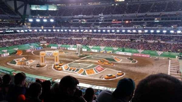 Lucas Oil Stadium, secção: 409, fila: 5, lugar: 1