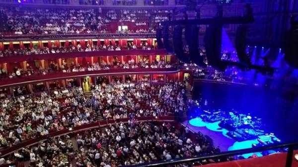Royal Albert Hall, secção: Rausing Circle W, fila: 2, lugar: 98