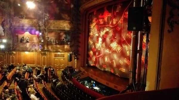 Lyceum Theatre (West End), secção: Royal Circle, fila: AA, lugar: 1