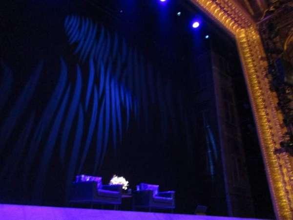 Theatre Royal Haymarket, secção: Stalls, fila: C, lugar: 14