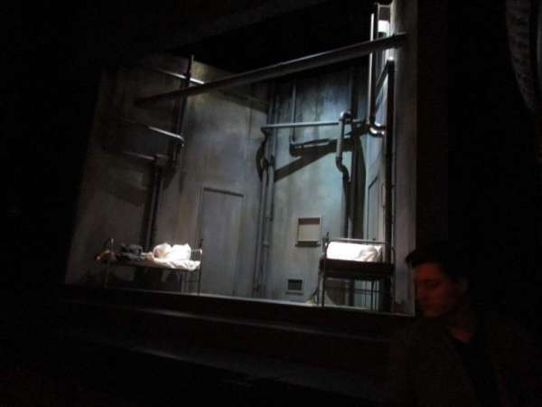 Harold Pinter Theatre, secção: Stalls, fila: F, lugar: 1