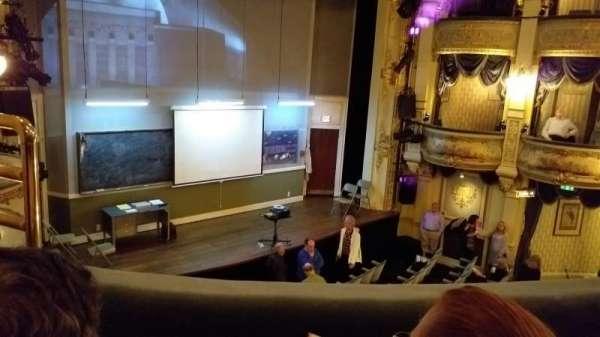 Wyndham's Theatre, secção: Grand Circle, fila: A, lugar: 29