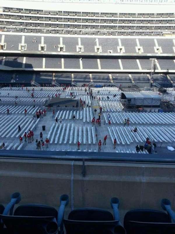 Soldier Field, secção: 339, fila: 3