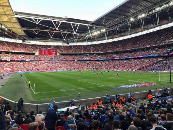 Wembley Stadium, secção: 137, fila: 15, lugar: 90