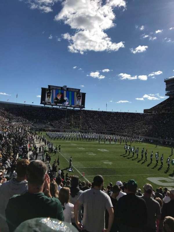 Spartan Stadium, secção: 3, fila: 23, lugar: 43