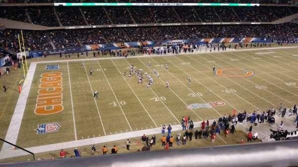 Soldier Field, secção: 441, fila: 1, lugar: 6