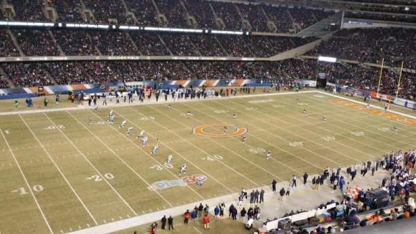 Soldier Field, secção: 441, fila: 1, lugar: 5