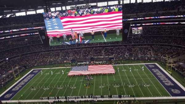 AT&T Stadium, secção: 412, fila: 12, lugar: 4
