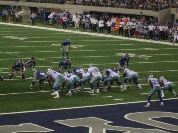 AT&T Stadium, secção: 148, fila: 3, lugar: 5