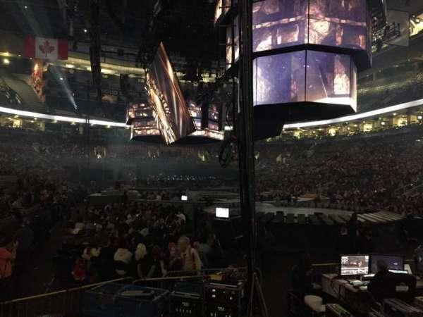 Scotiabank Arena, secção: 104, fila: 9, lugar: 1