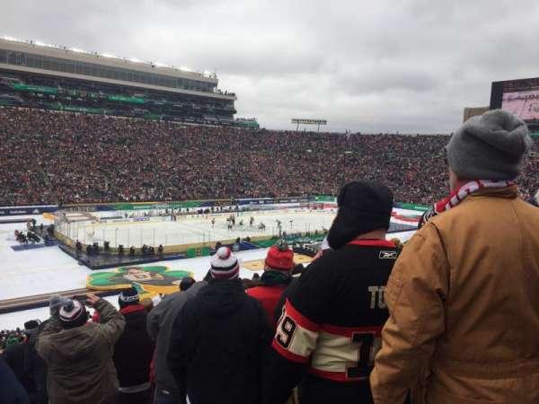 Notre Dame Stadium, secção: 32, fila: 53, lugar: 1