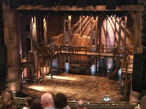 CIBC Theatre, secção: Mezzanine R, fila: J, lugar: 2