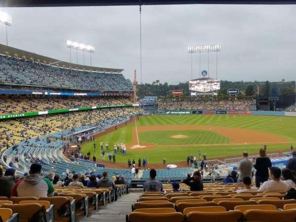 Dodger Stadium , secção: 120LG, fila: R, lugar: 1