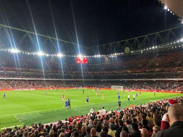 Emirates Stadium, secção: 2, fila: 19, lugar: 45
