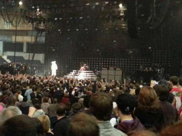 Blue Cross Arena, secção: 122, fila: E, lugar: 10
