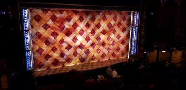 Brooks Atkinson Theatre, secção: Front Mezzanine L, fila: D, lugar: 7