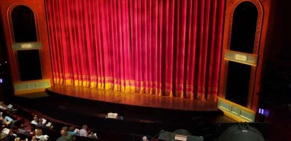 Marquis Theatre, secção: Mezzanine R, fila: A, lugar: 2
