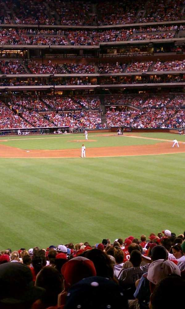 Citizens Bank Park, secção: Ashburn Alley, fila: 1