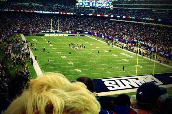 MetLife Stadium, secção: 204, fila: 6, lugar: 19