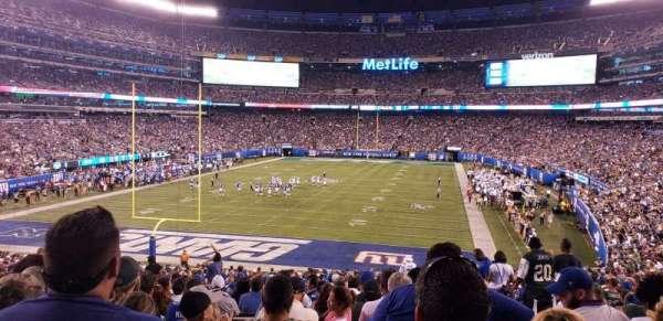 MetLife Stadium, secção: 149, fila: 36, lugar: 5