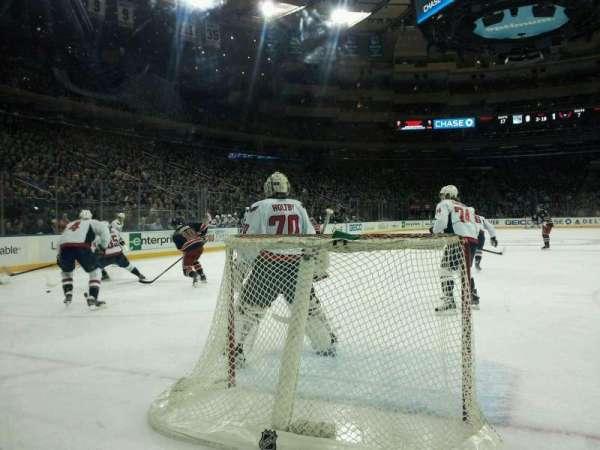 Madison Square Garden, secção: 8, fila: AA, lugar: 14
