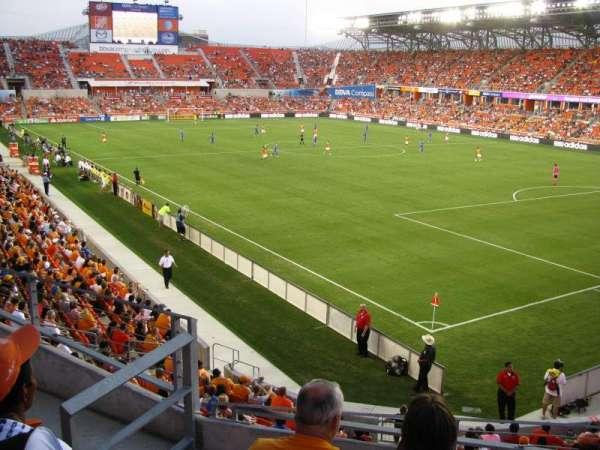 BBVA Stadium, secção: 201, fila: B, lugar: 4