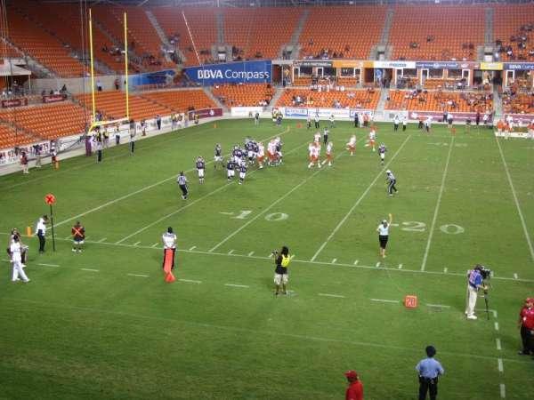 BBVA Compass Stadium, secção: 208, fila: A, lugar: 4