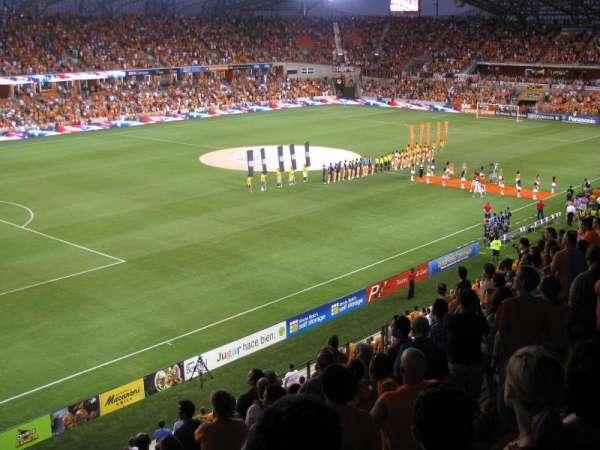 BBVA Stadium, secção: 210, fila: K, lugar: 18