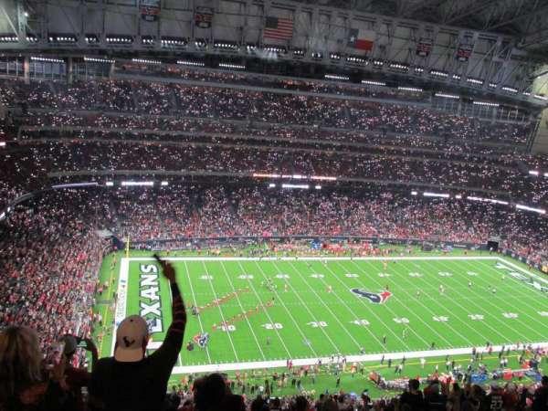 NRG Stadium, secção: 612, fila: S, lugar: 22