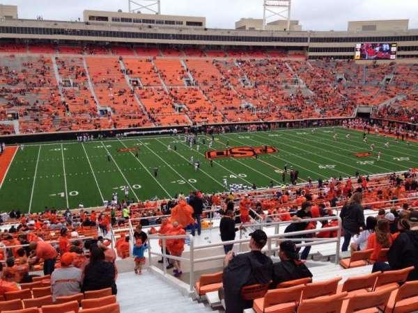 Boone Pickens Stadium, secção: 332, fila: 17, lugar: 1