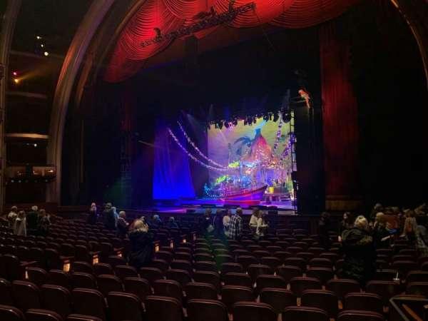 Dolby Theatre, secção: Parterre R, fila: A, lugar: 5