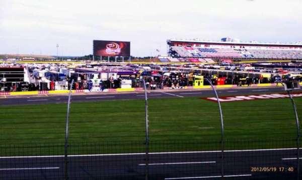 Charlotte Motor Speedway, secção: Chry E, fila: 14, lugar: 34