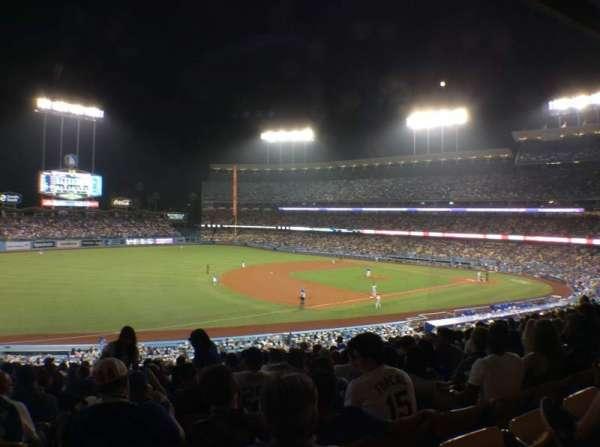 Dodger Stadium, secção: 147LG, fila: O, lugar: 8