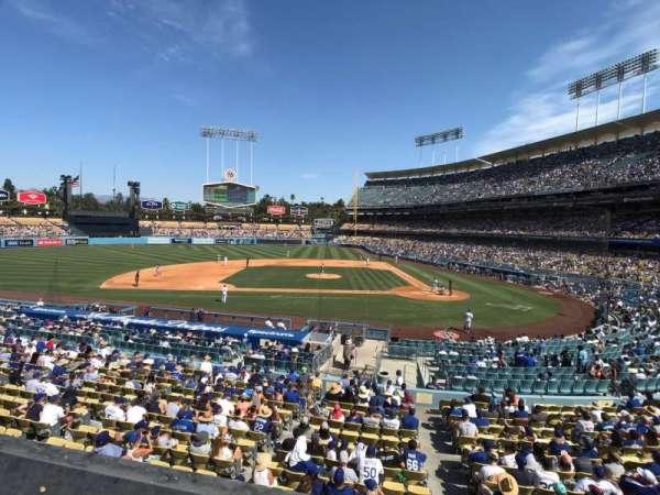 Dodger Stadium, secção: 125LG, fila: A, lugar: 6