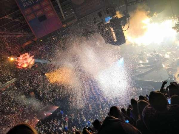 Mohegan Sun Arena, secção: 106, fila: J, lugar: 12