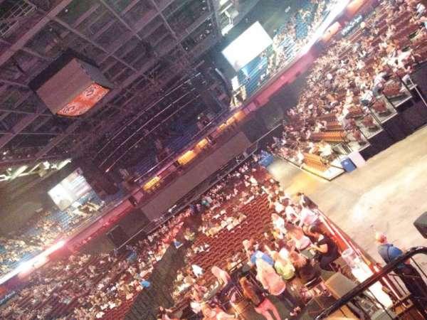 Mohegan Sun Arena, secção: 19, fila: N, lugar: 12